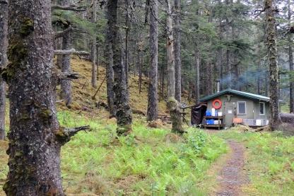Marmot Island shelter