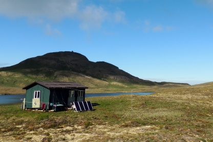 Ugamak Island shelter